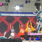 Kpop Comeback Stage f(x) (에프엑스) - Rum Pum Pum Pum (첫 사랑니) MBC Music Core 2013/07/27